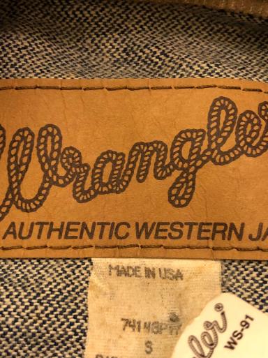 アメリカ仕入れ情報#33 デッドストック 80s&90s Wrangler denim jkt!_c0144020_09460454.jpg
