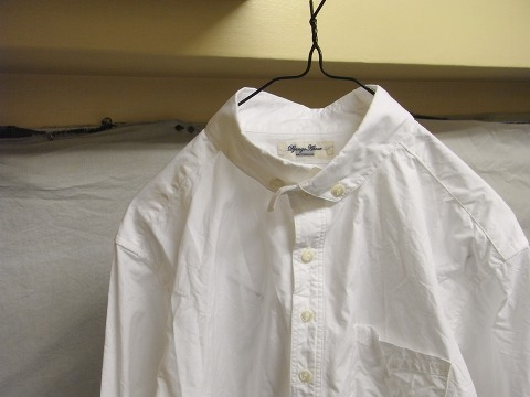 洗ってみました / anotherline roundcollar b.d. shirt_e0130546_15590928.jpg