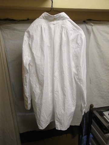 洗ってみました / anotherline roundcollar b.d. shirt_e0130546_15593607.jpg