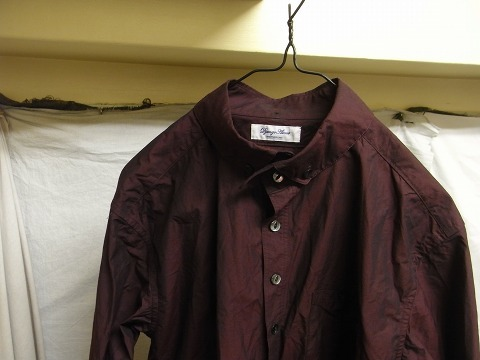 洗ってみました / anotherline roundcollar b.d. shirt_e0130546_16001022.jpg