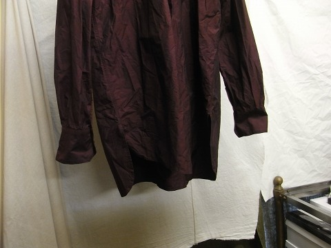 洗ってみました / anotherline roundcollar b.d. shirt_e0130546_16002644.jpg