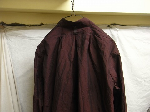 洗ってみました / anotherline roundcollar b.d. shirt_e0130546_16004014.jpg