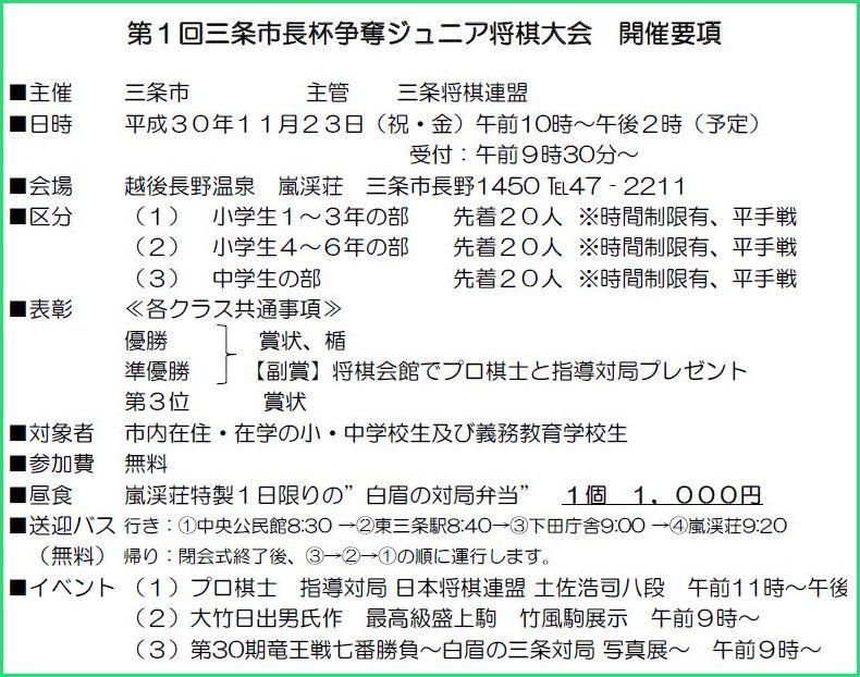第1回三条市長杯争奪ジュニア将棋大会_f0031459_09045550.jpg