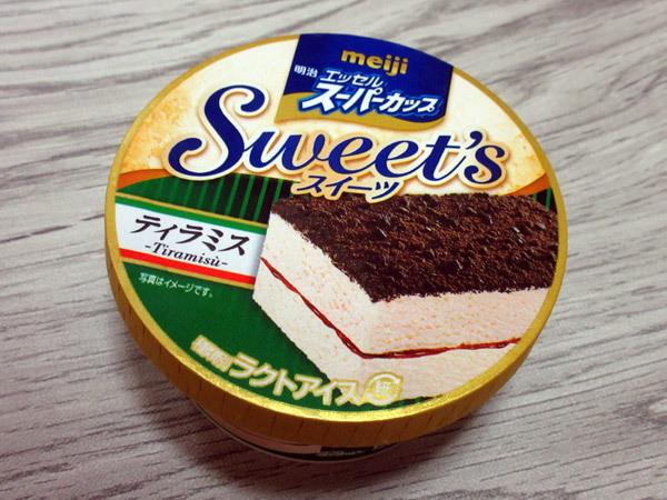 明治エッセルスーパーカップ Sweet\'s ティラミス@明治_c0152767_22404010.jpg