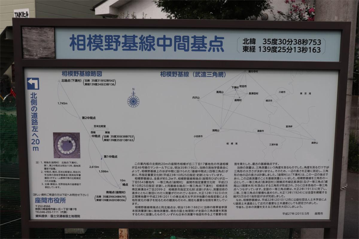 日本の三角測量の原点「相模野基線」を訪ねた_a0332275_01001500.jpg