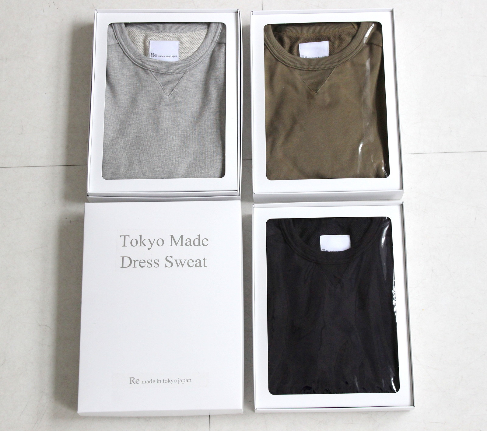 Tokyo Made Dress Sweat Shirt_c0379477_20194018.jpg