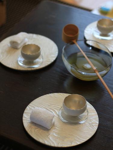 水出し煎茶を柄杓で・・・_f0357387_01055460.jpg