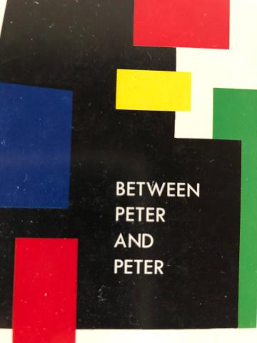 『ピーターとペーターの狭間で』青山南著_e0055098_19185870.jpg
