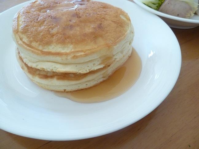 リコッタチーズのパンケーキ_b0198109_14314200.jpg
