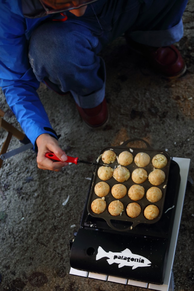 moulton友達とカリーを食べるCAMP_b0078651_20060373.jpg