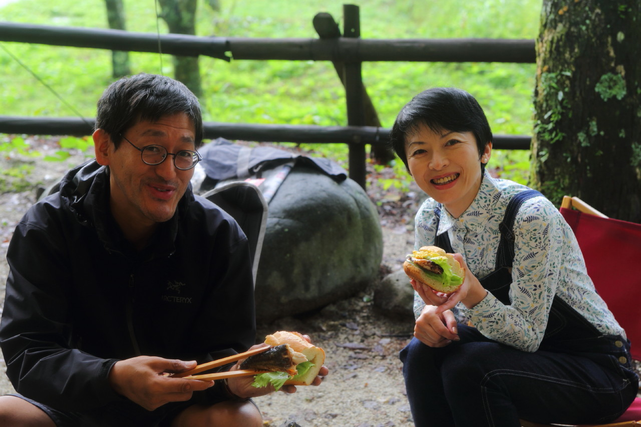 moulton友達とカリーを食べるCAMP_b0078651_20133689.jpg