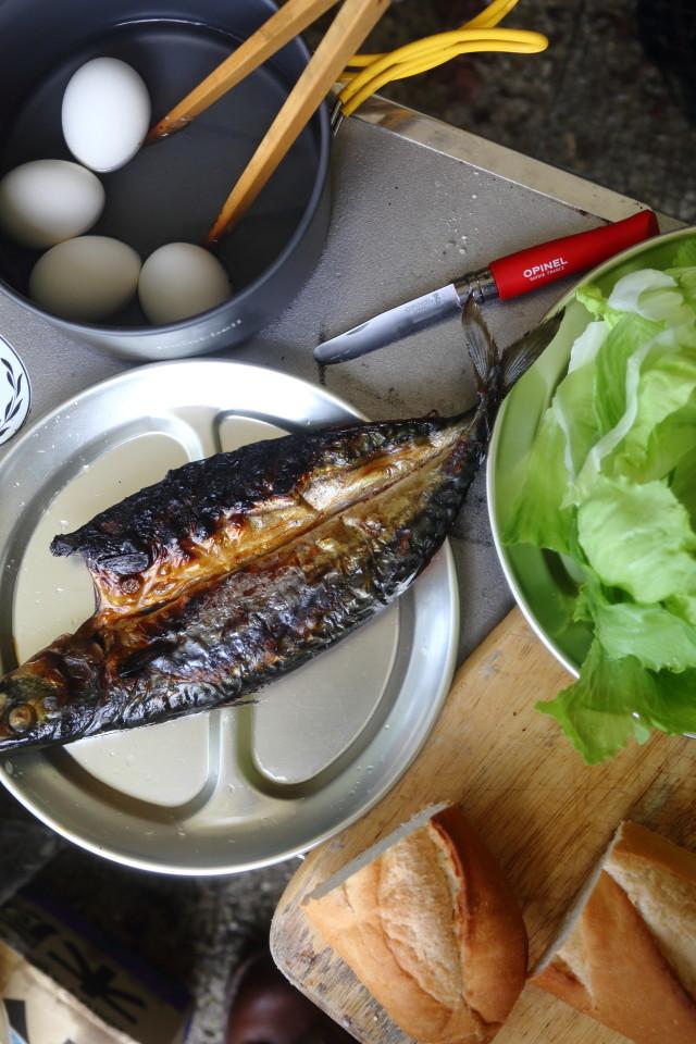 moulton友達とカリーを食べるCAMP_b0078651_20133690.jpg