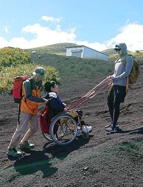 富士山ミニ登山2018#3(車椅子富士登山編)_f0195579_20253073.jpg