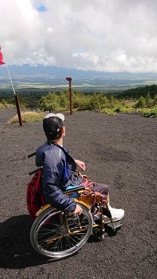 富士山ミニ登山2018#3(車椅子富士登山編)_f0195579_20293414.jpg