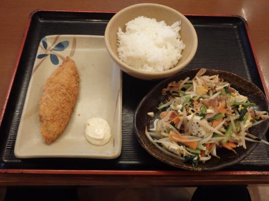 めしや食堂          大日店_c0118393_11192160.jpg