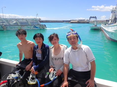 9月17日ウルトラ5ダイブ♬に賑やか海遊び!!_c0070933_22124591.jpg