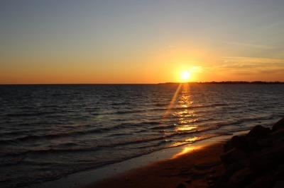南海岸の夕暮れ_c0353373_23181145.jpg