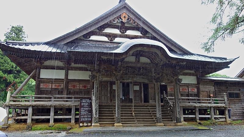 夏の終わりの旅2//湯殿山神社本宮から注連寺_b0018682_22281083.jpg
