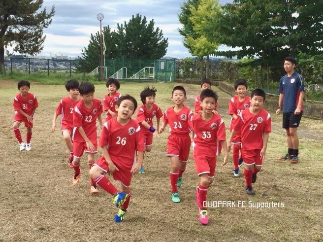 【U-9 くまがい杯 泉予選】vs ACジュニオール & KAMURI September 17, 2018_c0365198_23093953.jpg