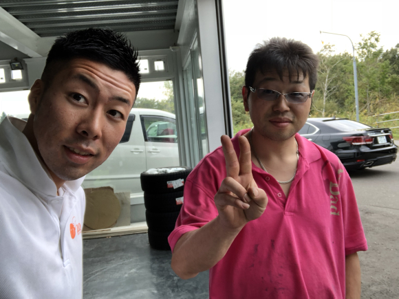9月18日(火)TOMMYBASE スタッフブログ ☆H様アルファード納車☆_b0127002_13151675.jpg