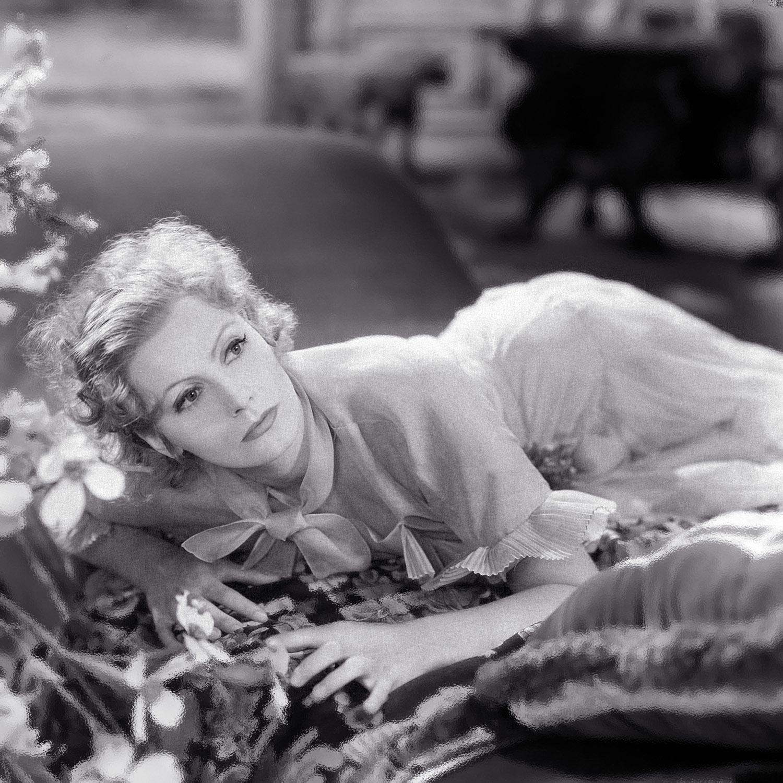 グレタ・ガルボ(Greta Garbo)・・・美女落ち穂拾い180918  夜