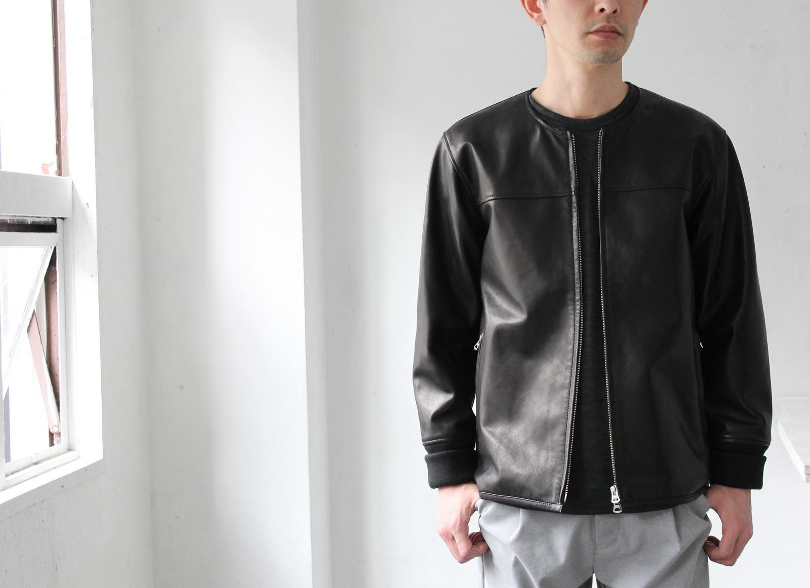 Japan Horse Leather Blouson_c0379477_22580145.jpg