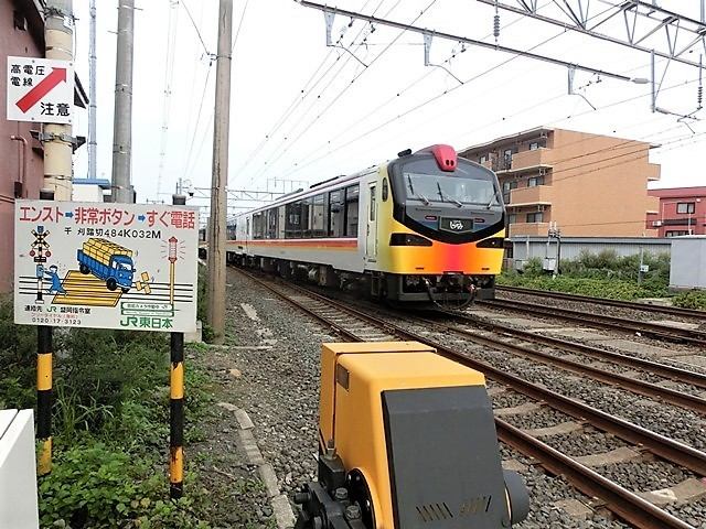 藤田八束の鉄道写真@青森で見つけた花園と貨物列車絶好のコラボトライアングル地帯・・・トライアングル地帯の鉄道写真_d0181492_23421515.jpg