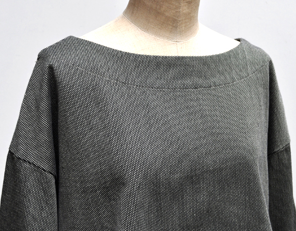 秋にお勧め、ペルー綿の刺子織アイテム / FACTORY_d0193211_19482556.jpg