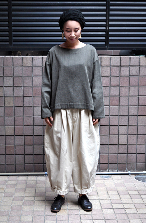 秋にお勧め、ペルー綿の刺子織アイテム / FACTORY_d0193211_1954344.jpg