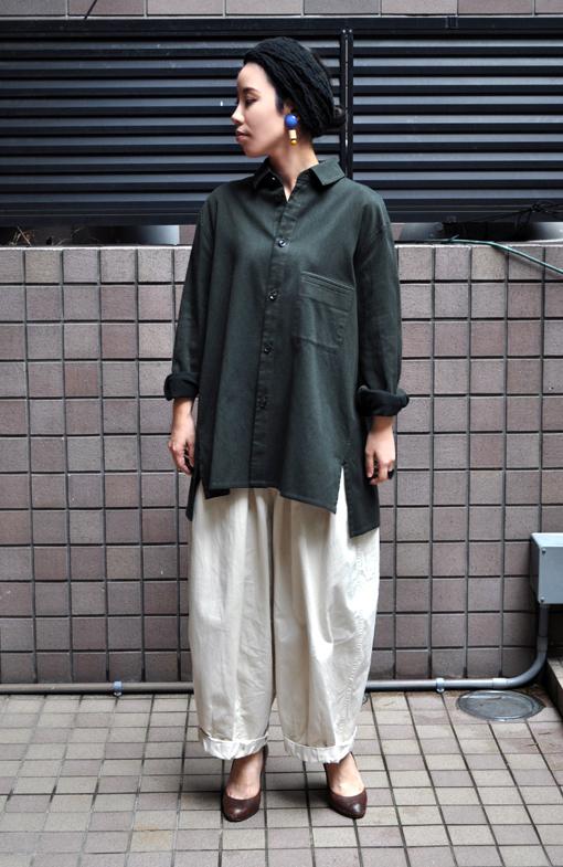 秋にお勧め、ペルー綿の刺子織アイテム / FACTORY_d0193211_2015868.jpg