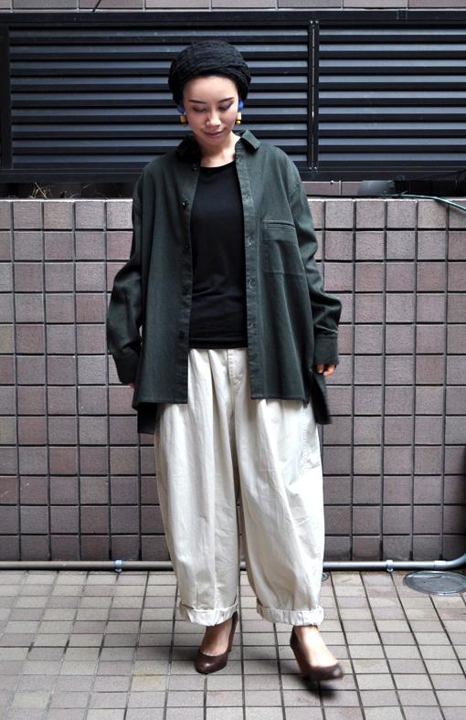 秋にお勧め、ペルー綿の刺子織アイテム / FACTORY_d0193211_2021849.jpg