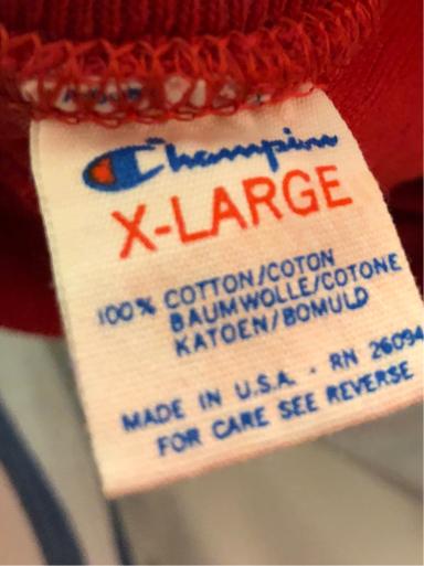 アメリカ仕入れ情報#46. 70s&80s champion foot ball Tシャツ_c0144020_00485272.jpg