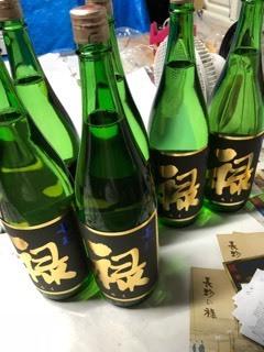「特別純米ゴールドラベル」瓶詰など_d0007957_23063469.jpg