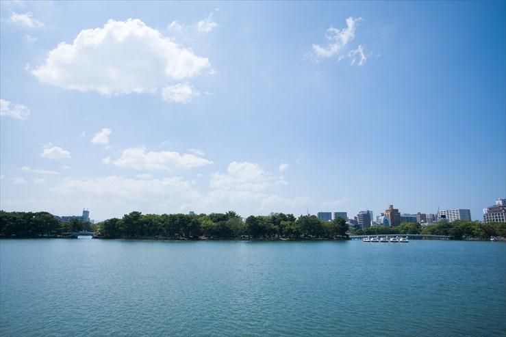 福岡旅行 舞鶴公園と大濠公園_e0170058_19265978.jpg