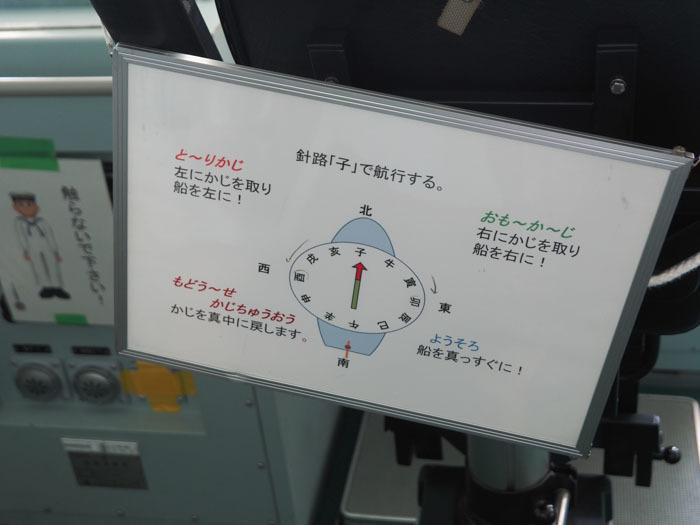 砕氷艦「しらせ」 清水港 その10 艦橋編3 操舵_d0068664_22413284.jpg