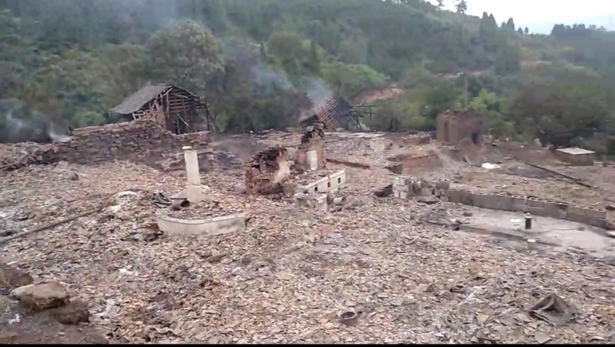 湖南省西部の山村で大火災発生、静岡在住の湖南出身者が支援呼びかけ_d0027795_11361066.jpg