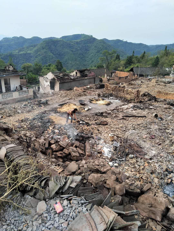 湖南省西部の山村で大火災発生、静岡在住の湖南出身者が支援呼びかけ_d0027795_11362737.jpg