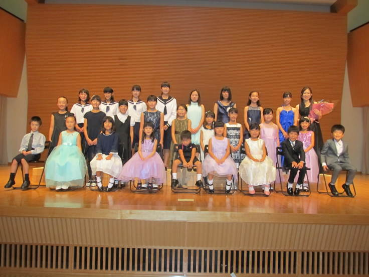 第20回ピアノ発表会終了致しました - 加藤ピアノ教室(鳥取県倉吉市伊木)~教室とピアノ教師の日々