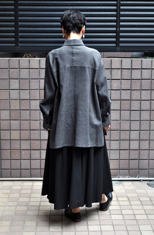 秋にお勧め、ペルー綿の刺子織アイテム / FACTORY_d0193211_14195233.jpg