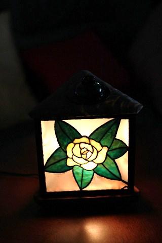 生徒さんの薔薇のあんどん_a0278866_11585931.jpg