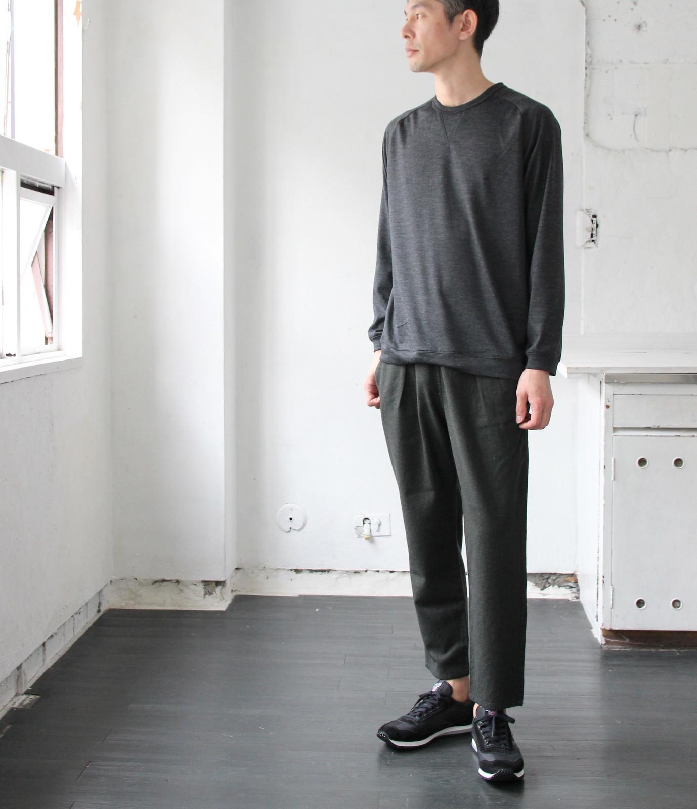 Merino Wool Knit Crew Neck_c0379477_20415815.jpg