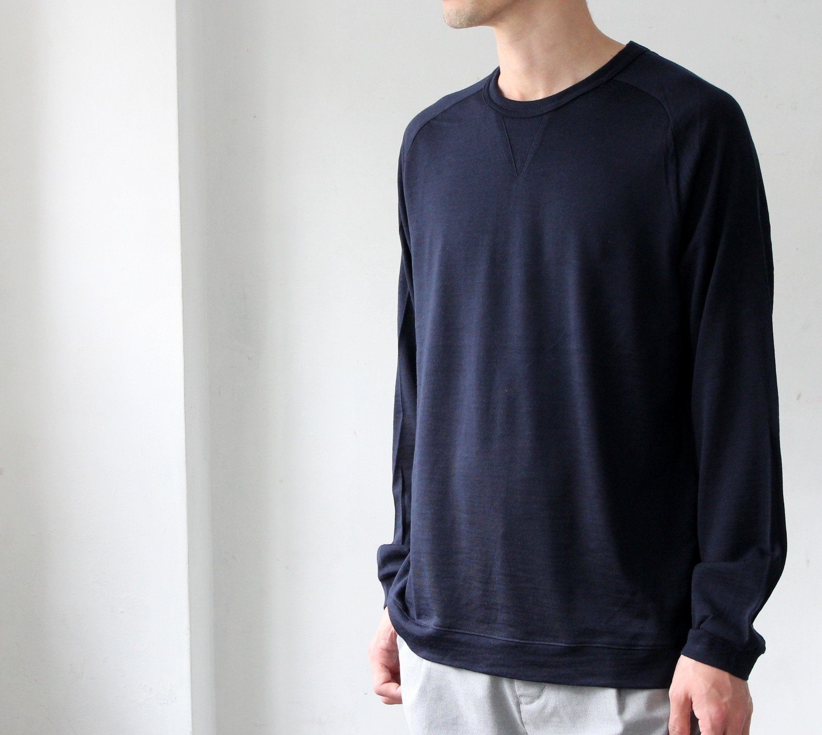 Merino Wool Knit Crew Neck_c0379477_20422291.jpg