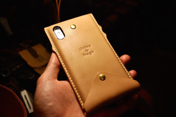 new! iphone Xs . Xs Max leather case_b0172633_20172434.jpg