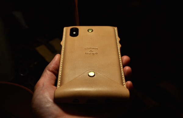 new! iphone Xs . Xs Max leather case_b0172633_20172460.jpg