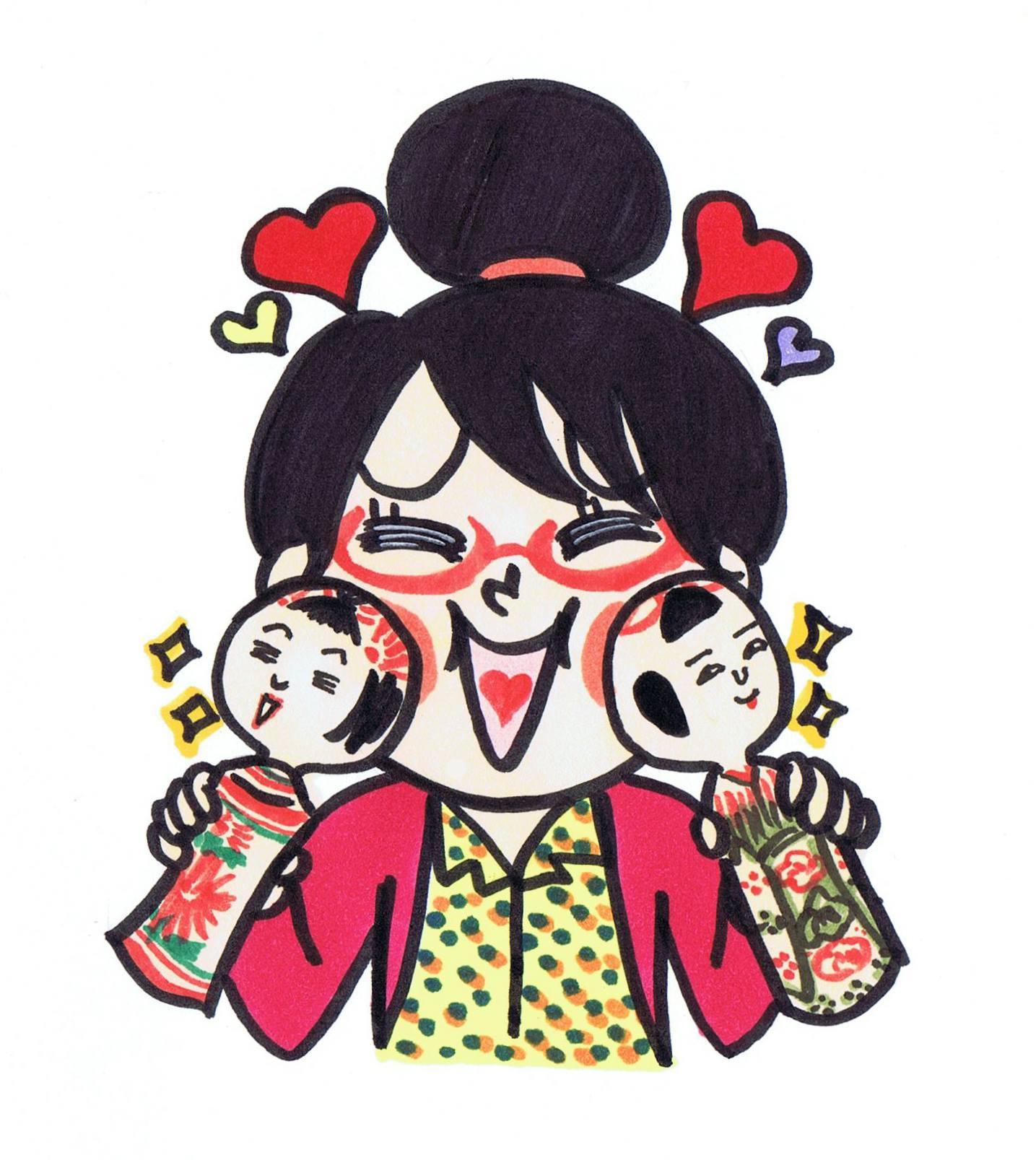 MYFIRST KOKESHI!~はじめての伝統こけし~ in 高円寺フェス2018 津軽こけし館持ち込み商品のお知らせ!_e0318040_8325139.jpg