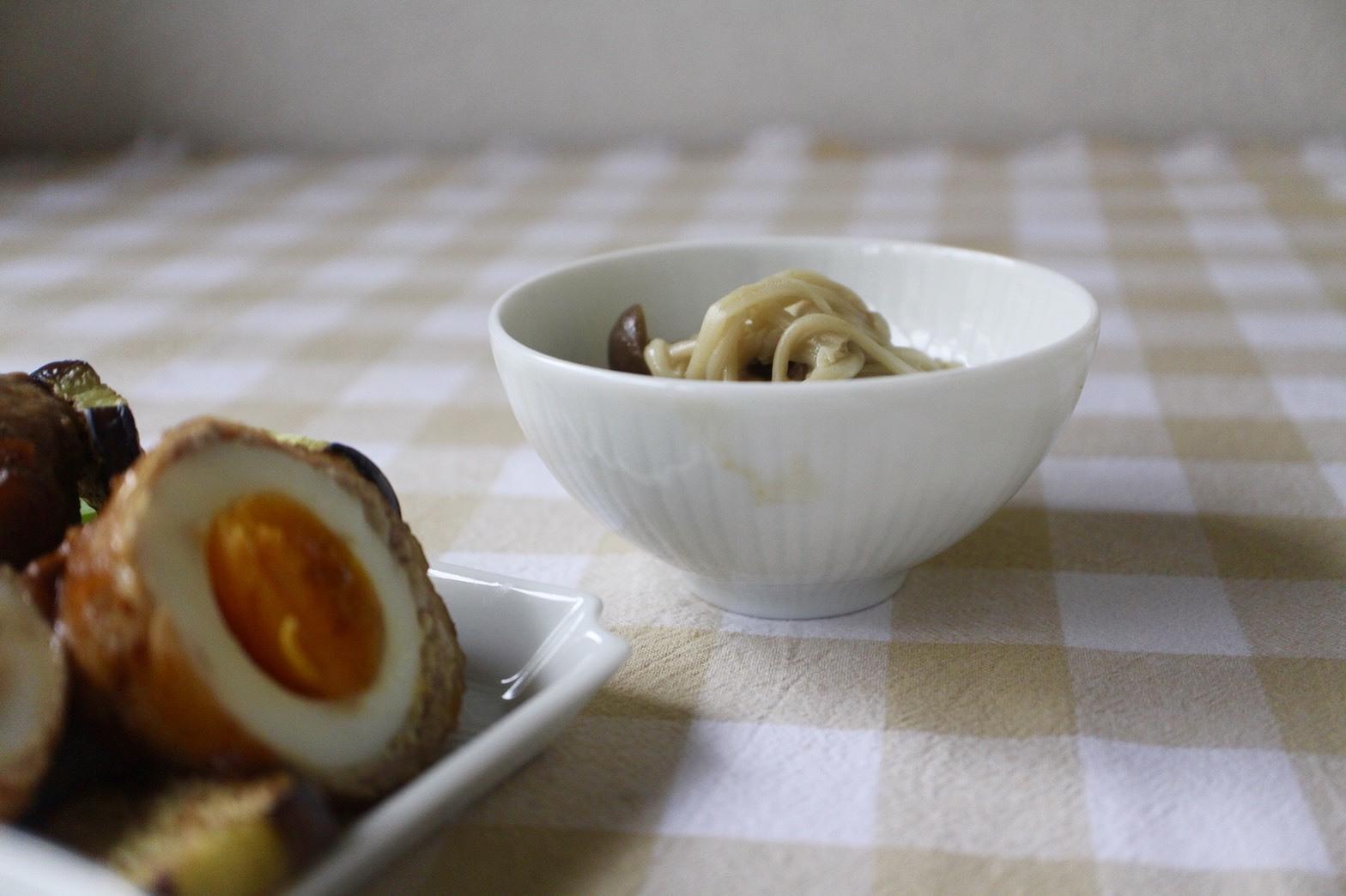 とろ〜り半熟卵の豚肉巻き_f0220354_10190845.jpeg