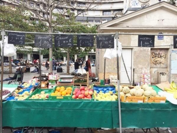 2018 8-9 ヨーロッパ買い付け後記4 パリで昼と夜と同じもの食べる 入荷レディース、ワンピース、ブラウス_f0180307_20415025.jpg