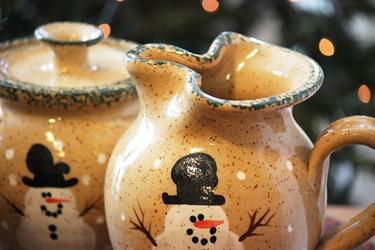Three Rivers Pottery のスノーマンポタリー_f0161543_14375464.jpg