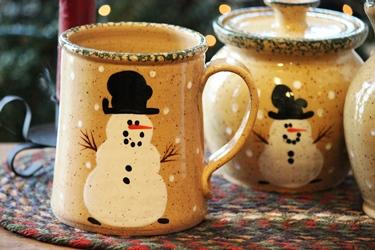 Three Rivers Pottery のスノーマンポタリー_f0161543_14384619.jpg
