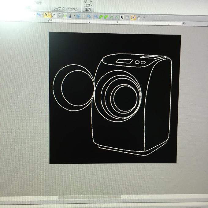 洗濯機の刺繍_e0385587_23342913.jpeg